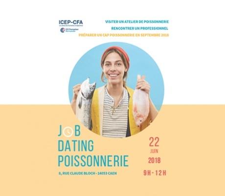 Job dating métiers de la Poissonnerie à l'ICEP-CFA