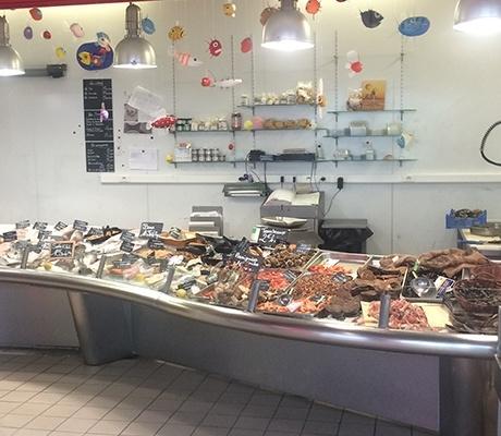 À vendre : poissonnerie à Nantes